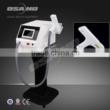 Laser Machine For Tattoo Removal ND Yag Laser Tattoo Q Switched Laser Machine Removal Machine With Black Doll For Face Treatment 1500mj