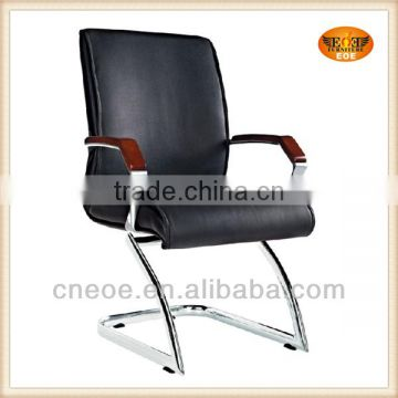 Black pu leather meeting chairs EOE-6002E
