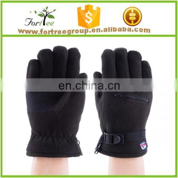 2015 mens five fingers gloves polar fleece design man bicycle sports gloves