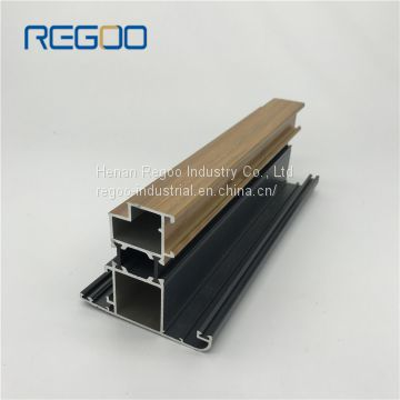 6000 Series Black/White/Silver/Champange Anodized Aluminium Extrusion for Windows and Doors