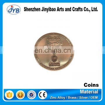 aluminum metal i-ching coins custom traditional fairy tale coin