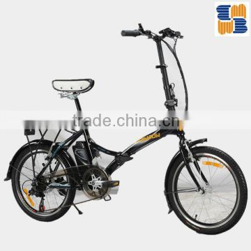 MB-S001F 20inch 250W lithium battery electric bike                                                                         Quality Choice