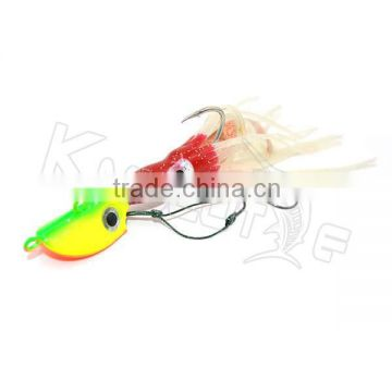 Chentilly CHLP27 new design lifelike lead fishing jigs bright color soft body fishing lure                                                                                                         Supplier's Choice