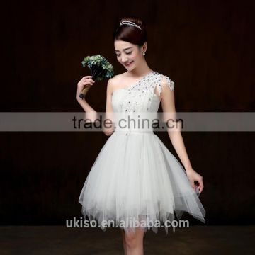 Wedding Bridesmaid Dresses Short Girl Prom Gowns Women Party ...