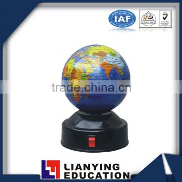 8.5cm, 10.6cm, 14.2cm, 18.2cm, 21.4cm, 32cm world globes student turning series