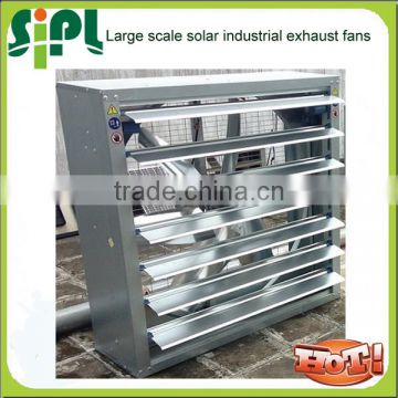 Vent tool New solar fans! 300W 36V Large solar panel Wall Mounted Industrial Exhaust Fan with dc motor
