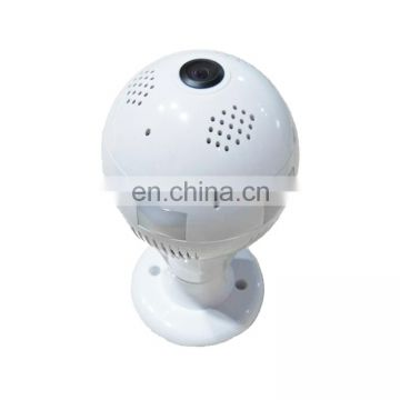 cctv camera DTS-T3 1.44mm Lens 1.3 Megapixel 360 Degree Light Bulb Infrared IP Camera