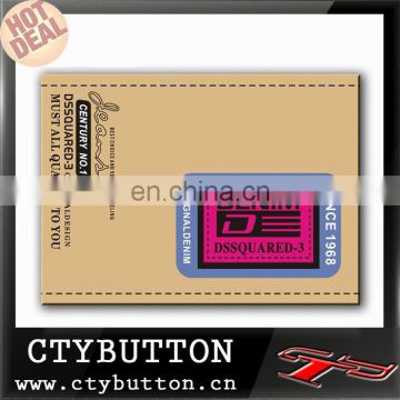 (0111) woven Labels washable cheap custom clothing label
