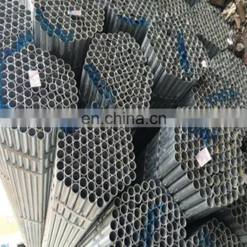 galvanized 2.5 inch steel pipe for greenhouse frame price per kg from China