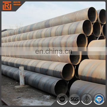 Spiral seam welded big diameter steel pipe spiral steel welded agriculture water pipe