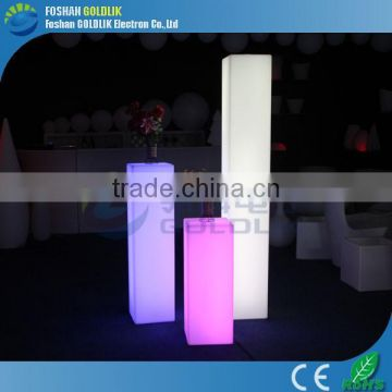 RGB Rechargeable LED Pillar Light