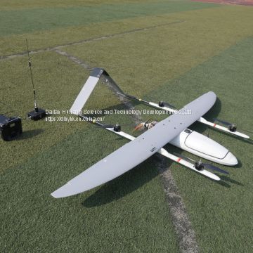Long Endurance Time VTOL fixed wing UAV drone with camera