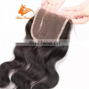 Wholesale Extensions Malaysian Virgin Remy Human Hair Frontal Lace Closure With Bundles
