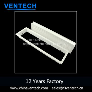 aluminum architectural removable linear bar grilles manufacturer