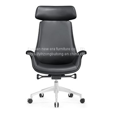 Foshan office chair manufacturer Y -  A336 leather chair contracted office ergonomics computer chair