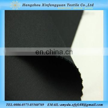 black cotton twill spandex fabric with high quality