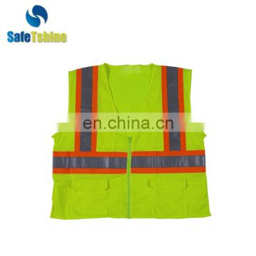 Most competitive reflective hot selling cheap safety outside work reflective vest