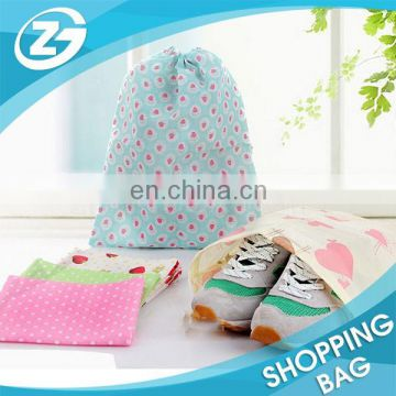 Promotional Gift Packing Stitched non woven shoe bag