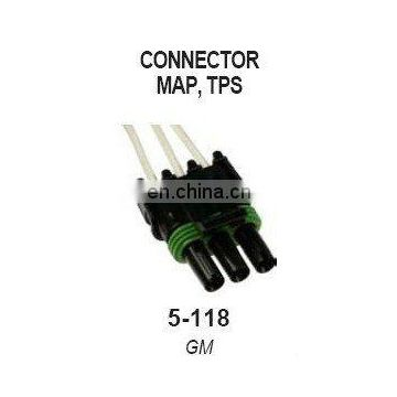 Connector Auto Spare Parts MAP.TPS 5-118 for GM car