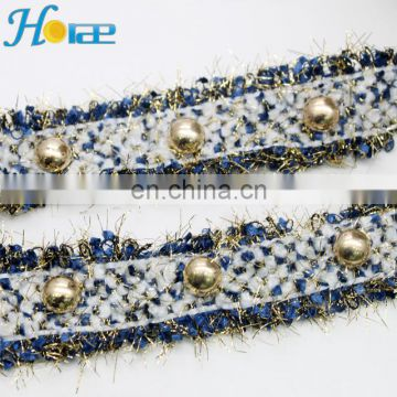 3cm new arrival ribbon banding for clothing shoe lace trim