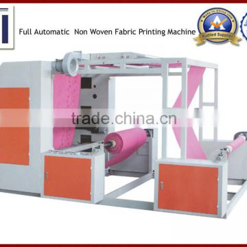 Automatic Non Woven Fabric Flexo Printing Machine of Printing