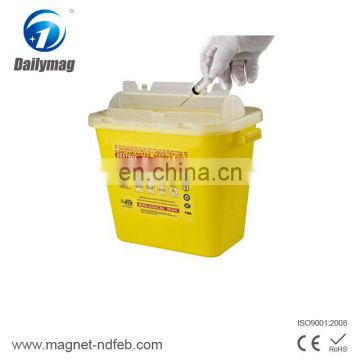 Square Medical Use Waste Sharp Container Sharp Bin Wastebin