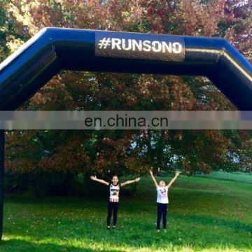 Free shipping 8x4m inflatable arch inflatable finish line arch with custom logo inflatable racing arch