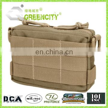 Waterproof 600D Polyester Army Tactical Pouch With Molle System