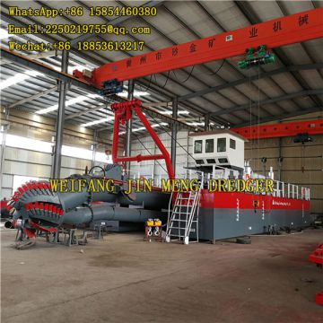 Strong Power Cutter Suction Dredger River Dredging Equipment 6inch - 24inch
