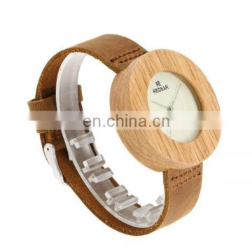 Latest japanese movement wood watch simple watch women wrist watch