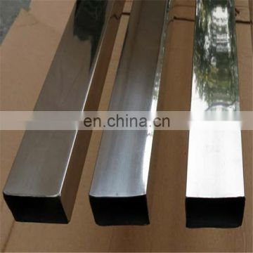 Grit mirror 316l stainless steel square tube prices