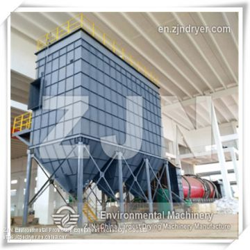 ZJN Three Cylinders Rotary Drum Dryer for Industrial 	Municipal Sludge Drying