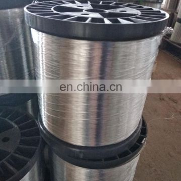 High Tensile Strength Gi Flat Wire For Galvanized Scrubber Scourer
