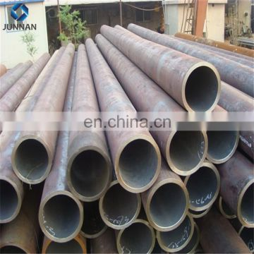 Hot rolled A106 GrB SCH40 carbon steel seamless pipe factory