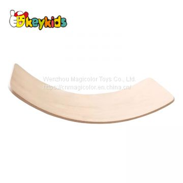 2019 Top sale children wooden balance rocker board with customize W01D028
