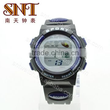 SNT-SP008D fashion high tech digital watches different bright sport ultra-thin color digital watch
