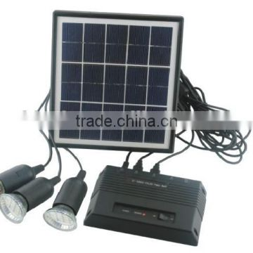 easy installation solar system for home use with LED lamps CE&ROHS Approved