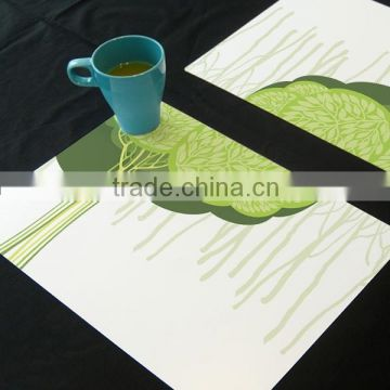 Good Printing UV Customized PP Eco-friendly softextile table mat