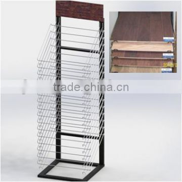 Hard Wood Shelves Display Stand