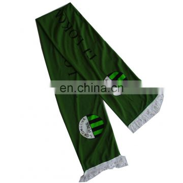 polyester football printed scarf