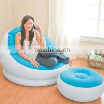 Inflatable Deck Sofa with Ottoman