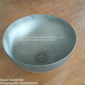 Carbon steel Hemispherical spherical head for Industrial hot blast stove