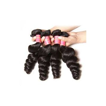 18 Inches Indian Curly Afro Curl Human Hair Double Wefts