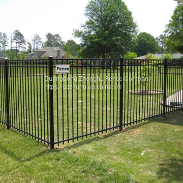 Decorative steel fence panels wrought iron fence for sale