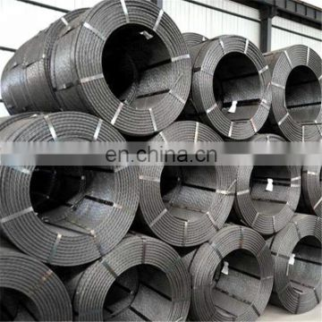 Building material high tensile strength pc strand wire from factory