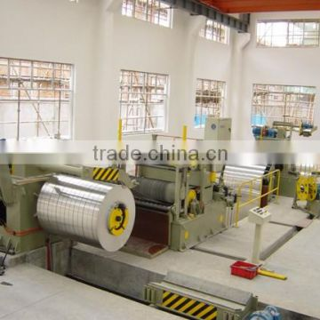 High speed slitting machine line
