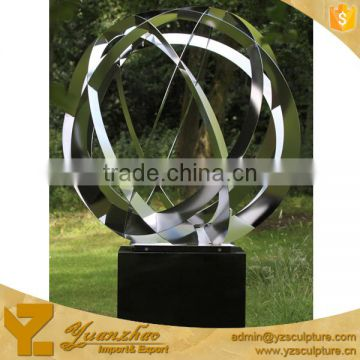 Large size outdoor abstract stainless steel sculptures for home decoration SWA-264