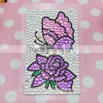 Acrylic Butterfly 3D Sticker, Personalized Self Adhesive Phone Sticker