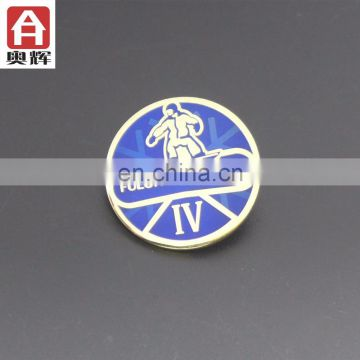 Good quality iron metal enamel pin badge