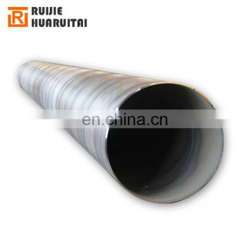 Spiral welded steel pipe piles EN10025 S355 S275, API 5L Spiral welded pipe